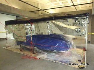 Car treatment - Insulated room around object